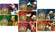 2016 Niue Proof Gold 9999 .5g Disney Mickey And Friends Set With Scrooge Mcduck