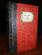 2000 Harry Potter And The Goblet Of Fire Unique Binding Hogwarts Library Rowling