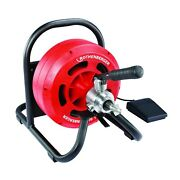 Rodrum S 10. Drum Drain Cleaning Machine With Automatic Spiral Feed