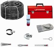 Rothenberger Standard Spiral Drain Cleaning Tool Set 7/8 72955