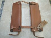 Us Ww2 75mm Pack Howitzer Carriage Carrier Leather 1943 Dated Nos Unissued