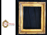 20 X 16 Hand Carve Picture Frame Water Gilded In 23.5k Gold Leaf
