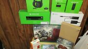 Brand New Gears Of War Red Console W/ Accessories 18 Months Xbox Live