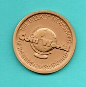 Coin World -the Weekly Newspaper Bronze Medal Coin 1-1/4 1792 Us Philly Mint