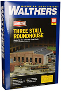 Walthers Cornerstone Ho Scale Model Roundhouse