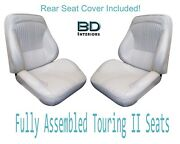 1964 Lemans And Gto Convertible Touring Ii Full Bucket Seats And Rear Seat Cover