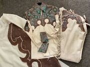 Western Show Outfit Package Sidesaddle Skirt Shirt Chaps Pad