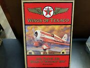 1930 Travel Air Model R Mystery Ship Wings Of Texaco 5th In The Series