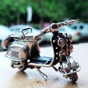 New Model Vespa 925 Solid Sterling Silver Biker Classic Collectible Motorcycle