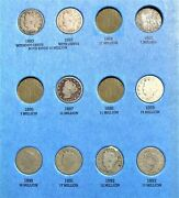 Coins From Page 1 2 And 3 Of 1883-1912 V-nickel Folder