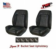 Sport R Front Bucket Lowback Upholstery For 1970 Camaro -tmi Products