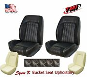 Sport R Front Bucket Lowback Upholstery + Foam For 1970 Camaro -tmi Products