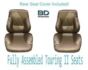1965 Lemans And Gto Convertible Touring Ii Front Seats Assembled And Rear Seat Cover