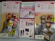 4-pc Set Little Friends/haba Kitchen / Dining/ Tv And Lamps/ Rugs, Germany Nrfb