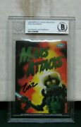 1994 Mars Attacks Archives Card 0 Signed Zina Saunders Beckett Bas Authentic