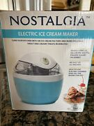 1 Pint Non-stick Gel Canister Ice Cream Maker Machine Electric Churning Paddle