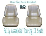 1967 Lemans And Gto Convertible Touring Ii Front Seats Assembled And Rear Seat Cover