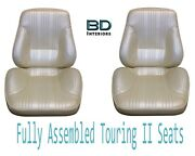 1967 Lemans And Gto Touring Ii Front Bucket Seats Assembled