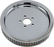 Drag Specialties Chrome Smooth Rear 70t 1.5 Wheel Pulley Harley Big Twin 84-99
