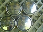 Vintage Ford Galaxie Fairlane Ltd Pickup Truck Hubcaps Wheel Covers Center Caps