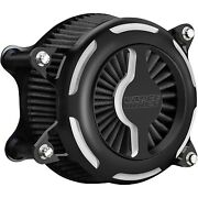 Vance And Hines 40097 Black Vo2 Blade Air Cleaner Filter Harley M8 Softail 18-up