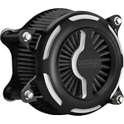 Vance And Hines 40093 Black Vo2 Blade Air Cleaner Filter Harley Fl Fx 08-17