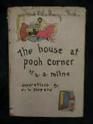 First Year 1928 The House At Pooh Corner Intact E. P. Dutton Dust Jacket 34th P