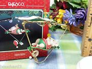 Enesco Siesta Santa Christmas Spectacles Ornament 5th And Final In Series