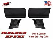 1967 Mustang Molded Sport Door And Quarter Panel Set - Your Choice Of Color