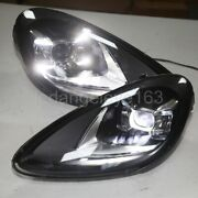 Led Headlights 2011-2014 Year For Porsche Cayenne For Wthout Afs Version Model