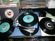 Record 45 Lot Of 90 Ea. Modern Soul Promo Records See List All Are Nice Clean