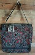 Amelia Earhart Luggage Garment Bag Folding New Nwt Suits Shoes Tapestry