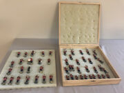 The Presidents Marine Band Boxed Set Of 51 Painted Lead Figures Original Paint