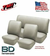 1956-1964 Vw Volkswagen Bug Beetle Convertible Off White Seat Upholstery