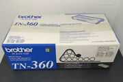 Genuine Brother Tn-360 High Yield Toner Cartridge - Sealed Fast Free Shipping