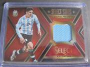 Lionel Messi /49 Jersey Card Panini Select Prizm Soccer Nobility Immaculate Noir