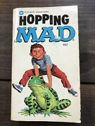 C.1976 Vtg Hopping Mad 27 Paperback Book First Printing - Mad Magazine Rare