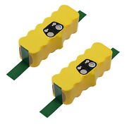 Mighty Max 2 Pack - 14.4v Battery For Roomba 500 510 530 532 535 540 550 560 562