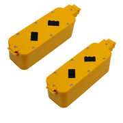 Mighty Max 2 Pack - Vacuum Battery For Irobot Roomba 4000 Discovery / Dirt Dog