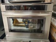 Jenn-air 24 Steam And Convection Wall Oven Jbs752bs