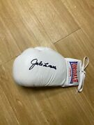 Jake Lamotta Signed Lonsdasle Boxing Glove See Proof - Pic With Raging Bull