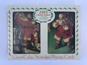 1993 Limited Edition Coca-cola Coke Double Deck Santa Nostalgia Playing Cards