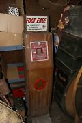 Foot Ease Massage Vitalizer Coin Operated Trade Stimulator Exhibit Supply Co.