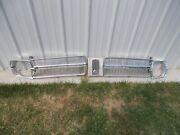 67 Plymouth Valiant 100 Signet Right And Left Radiator Grille Oem Wheadlight Beze