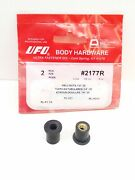 2177r Ufo Body Hardware - 1/4-20 Well Nuts - Qty. 2 Pieces