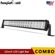 22inch 120w Led Light Bar Spot Flood Combo Fits Ford Offroad Truck Suv Atv 24in