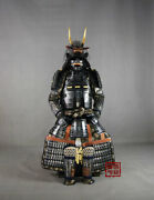Wearable Japanese Samurai Armor Yoroi Life-size Suit Iron Handmade Antique