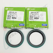 2 Skf Rotary Shaft Seals Nitrile Rubber Lip For Older Gmc And Chevrolet Models
