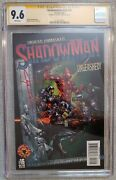 Shadowman V2 16 Cgc 9.6 Ss Signed First Clayton Crain Published Cover Krain