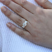 1.00 Ct Round Cut Real Diamond Beautiful Ring 14k Solid Yellow Gold Size 5 6 7 8
